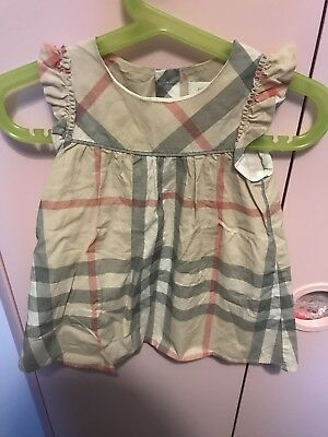 Burberry Dress Baby Dress 12m /74cm