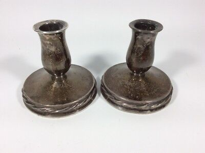 """"""" Towle - Sterling 130 """" Weighted Candlesticks"""