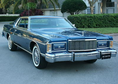 1976 Mercury Grand Marquis COUPE - MINT - 56K MILES MINT SHOW QUALITY LOW MILE SURVIVOR - 1976 Mercury Marquis Coupe - 56K ORIG MI