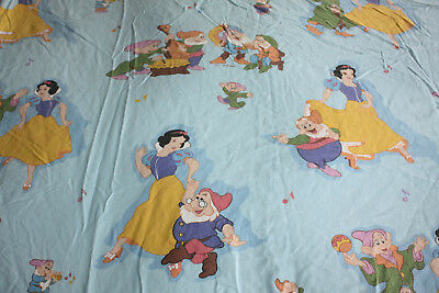 Vintage Disney Snow White Duvet Cover CTI France Twin Bed Seven Dwarfs