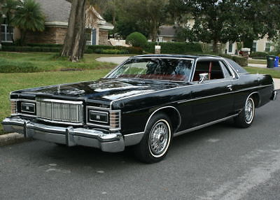 1978 Mercury Grand Marquis BROUGHAM COUPE - 71K MILES RARE LOW MILE SURVIVOR - 1978 Mercury Marquis Brougham Coupe - 71K ORIG MI