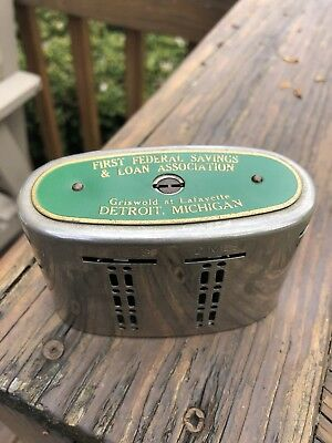 Vintage Branch Bank / Automatic Recording Safe - First Federal Savings Detroit
