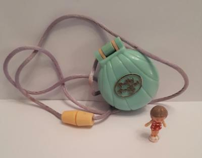 Vintage Polly Pocket, Little Lulu's Seaside Locket, 1991 by Bluebird,100% COMP
