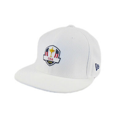3b8151a84c9 NEW 2018 New Era 59Fifty USA Ryder Cup Practice Round Fitted Flatbill 7 5 8