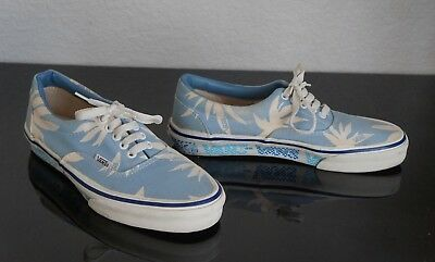 Vintage OF COLLECTION SZ 8 VANS MADE IN USA VERY RARE WITH PALMS AND LOGOS