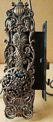All Original Bronze Victorian Entry Door Set With Dolphins The Best!!!!