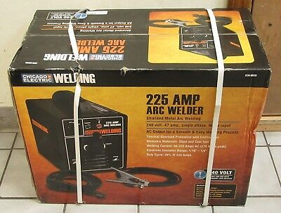 (MA1) Chicago Electric 69029 225-Amp Arc Welder NEW LOCAL PICKUP ONLY