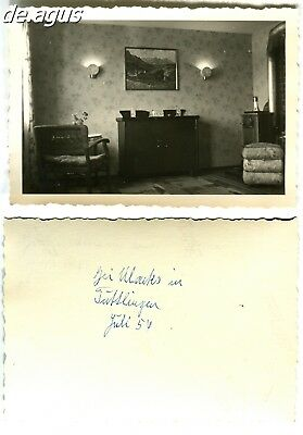 Vintage Photo from 1954 amazing living room
