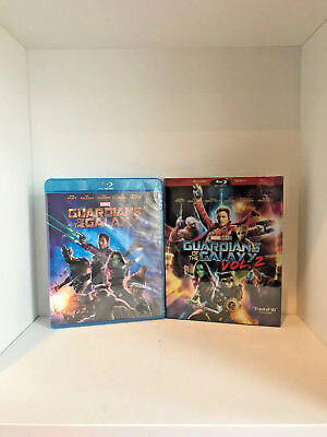 Guardians of the Galaxy Vol. 1 & Vol. 2 (Blu-Ray w/ Slip Cover)