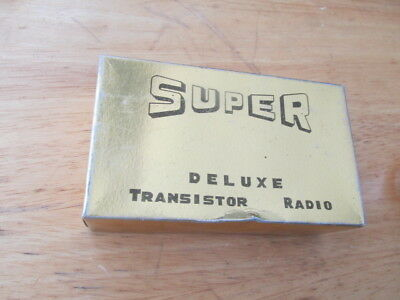 Super Trs-261 Deluxe Two Transistor Radio