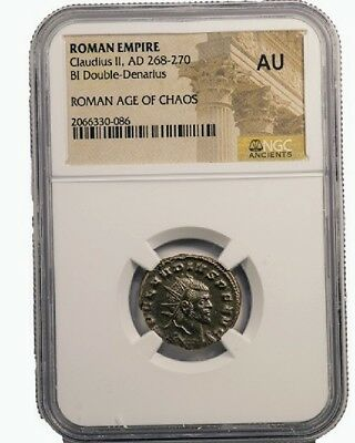Constantine the Great, excellent condition Roman coin,  NGC certified AU
