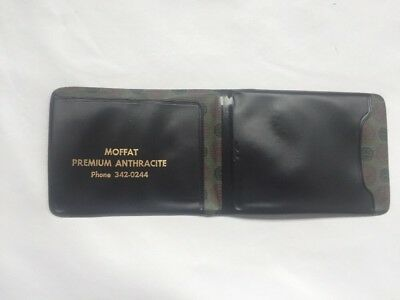 Vintage Moffat Anthracite Coal Wallet Taylor Pa.