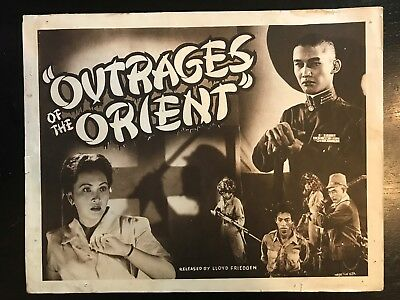 OUTRAGES OF THE ORIENT- Title Card