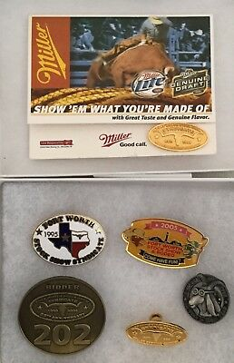 2004 2005 STOCK SHOW FORT WORTH Syndicate Bidder PIN BADGE Lot