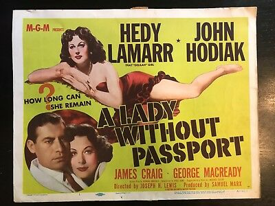 A LADY WITHOUT A PASSPORT- Title Card