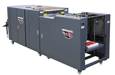 UV Coater TEC LIGHTING TruCoat 16 with Automatic Feeder. FREE SHIPPING WITH BIN