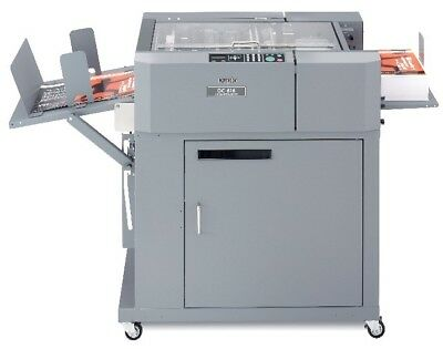 Duplo DC-615  slitter, cutter, creaser. Total pages 347k, operate hours 505