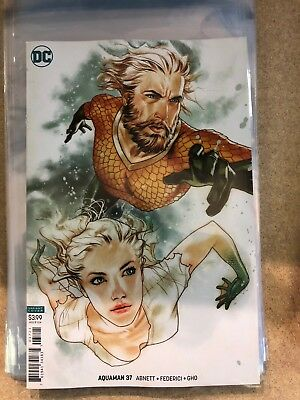 Aquaman #37 Cover B Middleton Variant 6/20/2018 Sold Out