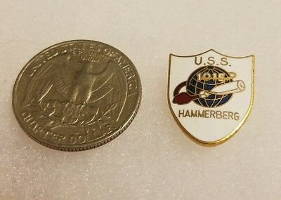 Military Pin USS 1015 Hammerberg