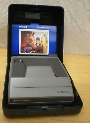 Polaroid Spectra System SE Autofocus Instant Film Camera with Hard Case & Strap