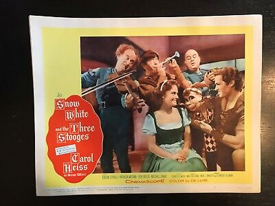 SNOW WHITE AND THE THREE STOOGES- Lobby Card Set