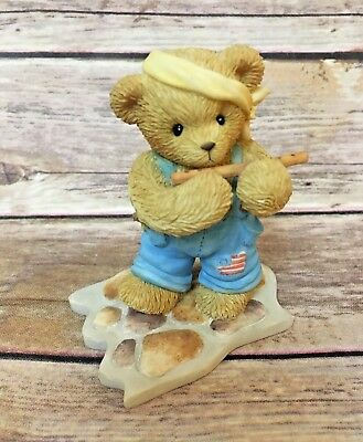 """Cherished Teddies: 112397 MADISON """"BRAVE AMERICANS, ONE AND ALL"""""""