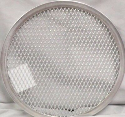 "(1 DOZEN) 8"" PIZZA SCREENS Screen Pan Tray Aluminum Seamless Rim Screen 1 DOZEN"