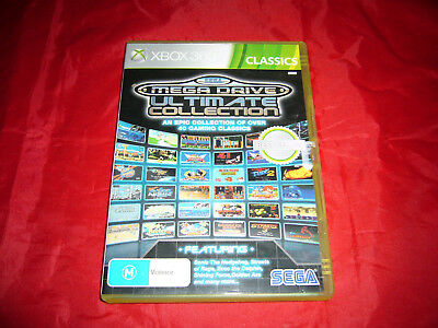 Xbox 360 SEGA Mega Drive Ultimate Collection Free Postage