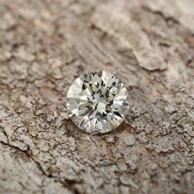 Loose Moissanite (5.25 TO 12.75 mm) Off White Yellow SI1, Round Brilliant Cut