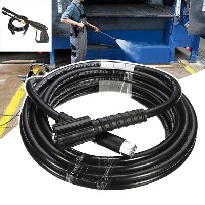 AU 8m 2300Psi/160Bar M22 Washer High Pressure Hose +135 Bar M14 Spray Lance Gun