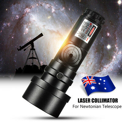 "AU 7 Bright Level 1.25"" Laser Collimator w/ 2"" Adaptor For Newtonian Telescopes"
