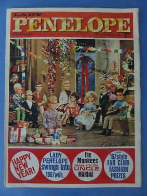 Lady Penelope 50 1966 Happy New Year! Very Rare! Superb!