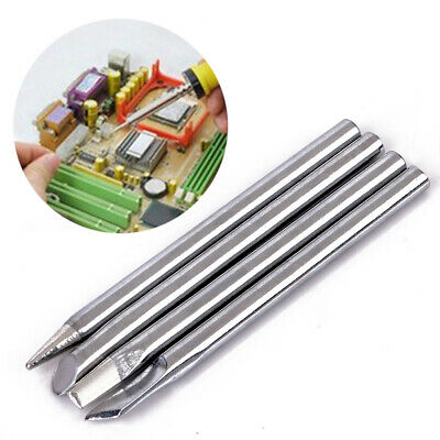 4x 40W Electric Soldering Iron Tip Head Replaceable 4.4mm Shank For Solder Irons