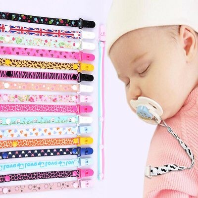 Universal Dummy Pacifier Soother Baby Clip Leash Strap Chain Nipple Holder