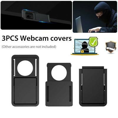 3 Pack Webcam Cover Thin Camera Slider Privacy Sticker for Laptop Mobile Tablet