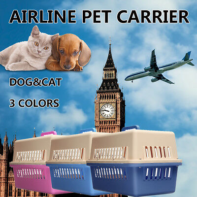 Pet Dog Cat Carrier Airline Approved Portable Tote Crate Kennel Travel Carry Bag