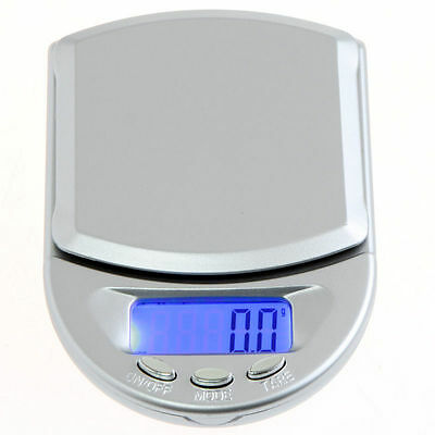 0.1g-500g LCD Mini Digital Pocket Weighing Scales Kitchen Jewellery Scale Herbs