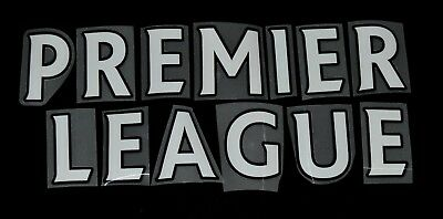 Premier League 2013/14/15/16 White Letter Name for Football Shirts Sporting ID