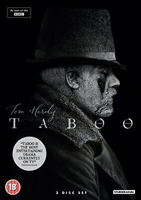 Taboo  with Tom Hardy New (DVD  2017)