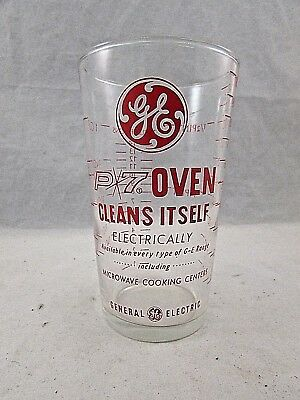 Ge P7 Self Cleaning Oven Advertising Measuring Glass