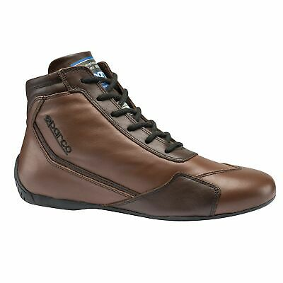 Sparco Slalom RB-3 Classic FIA Leather Race / Rally Boots Brown UK 3.5 / Eur 36