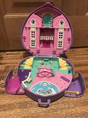 Bluebird Polly Pocket Wonderful Wedding Party Heart Playset 1994 VGC