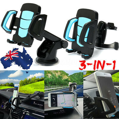 Car GPS Air Vent Windshield Dashboard Holder Mount For Satnav TomTom Navman AU