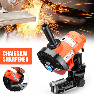 """12V Chainsaw Sharpener Swarts Tool  Chain Saw Pro Electric Grinder 1/4"""" 3/8"""" 85W"""
