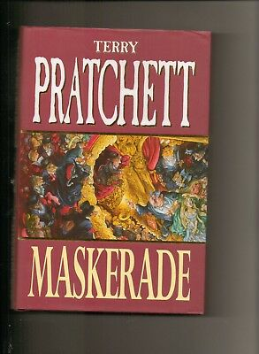 Maskerade (1st Edition in d/w) - signed by Terry Pratchett - nr Mint copy