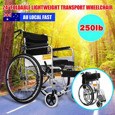 Portable Folding Wheelchair Assist Or Manual Self-Propelled Re-Hab, Elderly, Dis