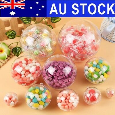AU 80-156mm Clear Ball Sphere Bath Bomb Mold Mould Wedding Valentine's Decor