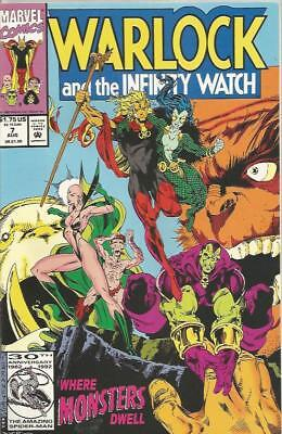 WARLOCK AND THE INFINITY WATCH (1992) #7 - Back Issue (S)
