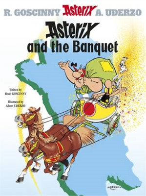 Asterix and the Banquet (Asterix (Orion Hardcover)), Ren� Goscinny, Used; Good B