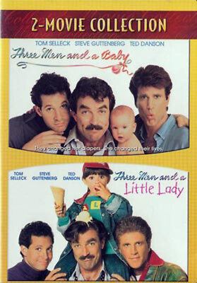 Three Men and a Baby / Three Men and a Little Lady (2 Disc) DVD NEW